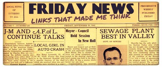 Friday News Header